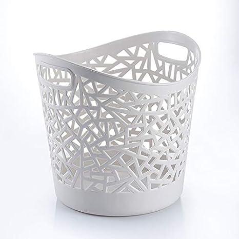 YMJJ Canasta de lavandería de plástico Almacenamiento de ...