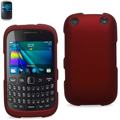 Reiko RPC10-BB9310RD Premium Rubberized Protective Cover for Blackberry Curve 9310 - Research In Motion - 1 Pack - Retail Packaging - Red