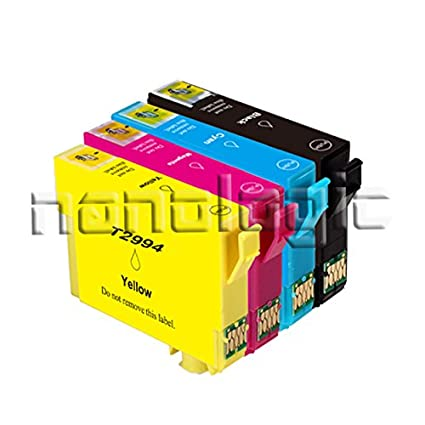 nanologic 4 x Cartuchos de impresora compatible para t2991 XL ...