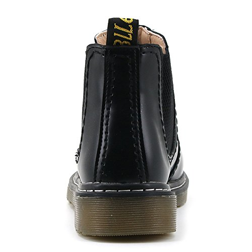 Casual Chelsea Black Womens Aleader Slip Boots On SxFnHqz