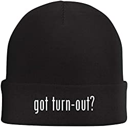 Tracy Gifts got Turn-Out? - Beanie Skull Cap with Fleece Liner, Black