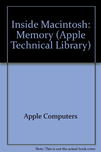 Memory (Inside Macintosh) by Addison-Wesley