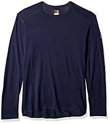 Icebreaker Merino Oasis Year-Round Base Layer Long Sleeve Crew Neck Shirt, New Zealand Merino Wool