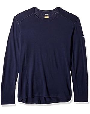 Oasis Year-Round Base Layer Long Sleeve Crew Neck Shirt, New Zealand Merino Wool