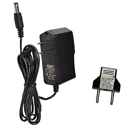 HQRP 6V AC Adapter for Magic Care UE08WCP-060100SPA Automatic Digital Upper Arm Cuff Blood Pressure Monitor Power Supply Cord Adaptor + Euro Plug - Automatic Arm