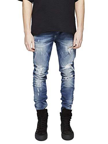 Blau Jeans Vintage Adelina Strappati Elasticizzati Stretch Abbigliamento Skinny p00wOqa
