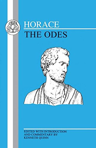 Horace: Odes (Latin Texts)