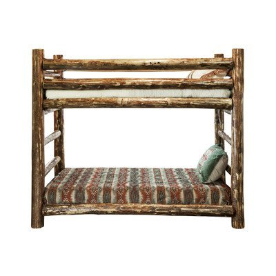 - Montana Woodworks MWGCBBN Glacier Country Collection Bunk Bed, Twin