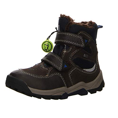 Garçon Navy 24 Bottes Brown Tex Timo Souples Lurchi Marron xgw1TH1q