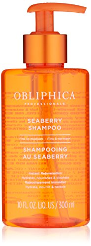 Obliphica Professional Seaberry Fine to Medium Shampoo, 10 fl. oz. by Obliphica Professional