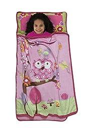 Baby Boom Woodland Toddler Nap Mat, Pink