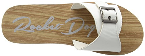White Ja0 Kaplan Blanc Weiß Femme Dog Sandales Rocket HYq688