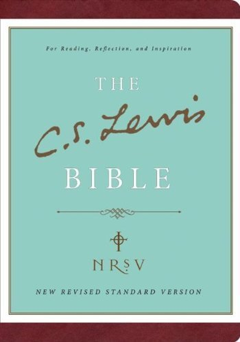 The C.S. Lewis Bible - Leather Edition by Lewis, C. S. (2010) Leather Bound (Cs Lewis Bible Leather Bound compare prices)