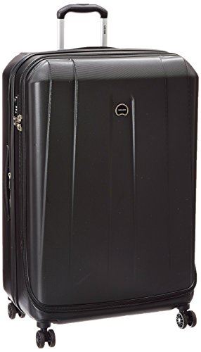 Delsey Luggage Helium Shadow 3.0 29 Inch Exp. Spinner Trolley, Black, One Size