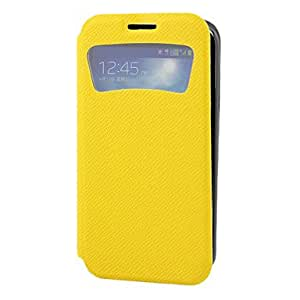 ZXC Stones Grain PU Leather Full Body Case for Samsung Galaxy S4 I9500 (Assorted Colors) , White