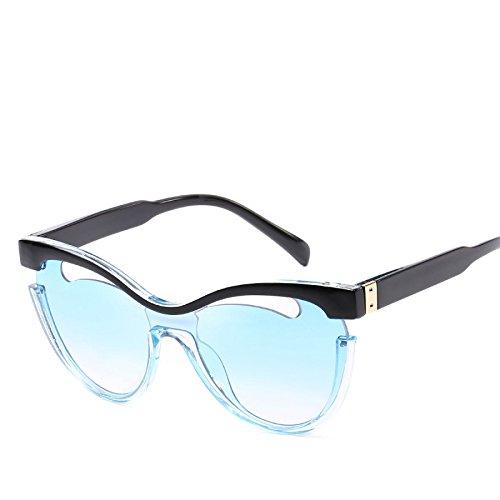 De NO7 Americanas Tendencias Hueco Europeas Gafas Sol Personalidad Y Las Una De RinV No4 Sola De Pieza Visor Sol Gafas Moda Mujeres qnRxOUUPaw