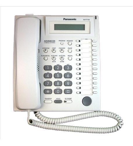 1 - Speakerphone W/ LCD WHITE ()
