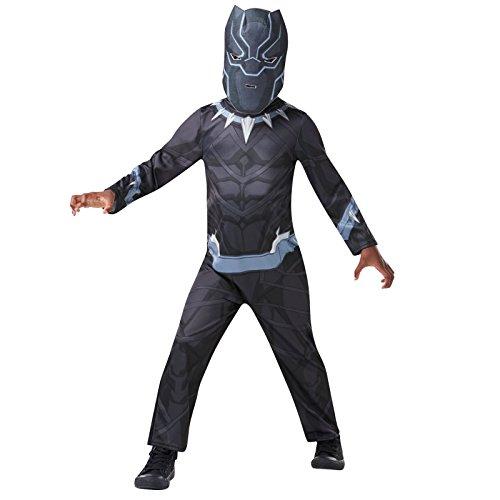 Rubies-Déguisement Classique Black Panther Taille M, Boys, I-640907M, M