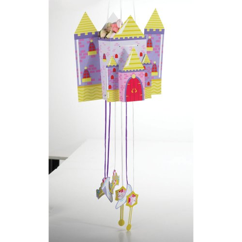 Princess Castle Fun Pull-String Pinata