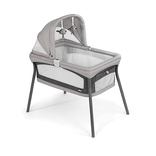 Chicco LullaGo Nest Portable Bassinet, Vanilla