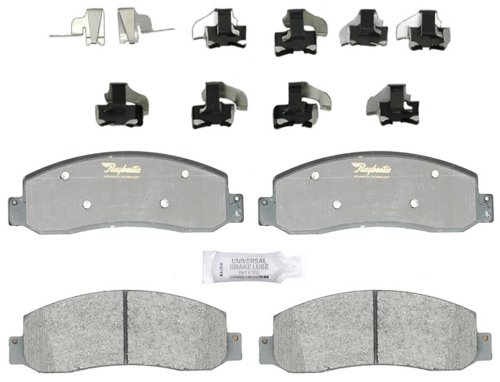 Raybestos ATD1069M Advanced Technology Semi-Metallic Disc Brake Pad Set