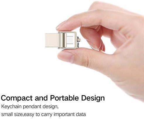 USB-C Tf USB Typeb USB 3.1 Tipo C per Telefono Galaxy S9 Type-C OTG Card Reader Argento Andifany Lettore di Schede OTG Micro