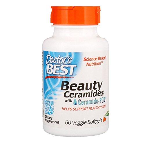 Doctor's Best Beauty Ceramides with Ceramide-PCD Veggie Soft Gels