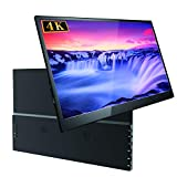 15.6 Inch Portable Monitor 3200×1800 UPERFECT IPS Ultra Thin Screen Display Dual Mini HDMI Monitor for Raspberry Pi/Xbox/PS/Computer/Laptop/MAC