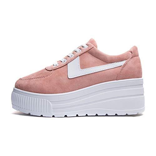 Sneakers Scarpe Casual Alta Donna Moda Hy1802 Ginnastica Platform Mforshop Sportive Rosa Zeppa dtnHqH1
