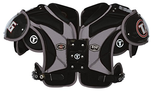 TAG ALT II 850 Football Shoulder Pad for Running Back, Defensive Back, Full Back, Line Backer Maximum Protection, Maximum Mobility (Small) (Shoulder Sizing Football Pads)