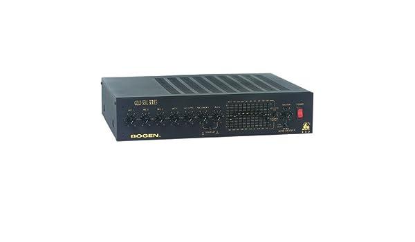 Bogen GS250/Gold Seal GS250 amplificador de megafonía: Amazon.es: Electrónica