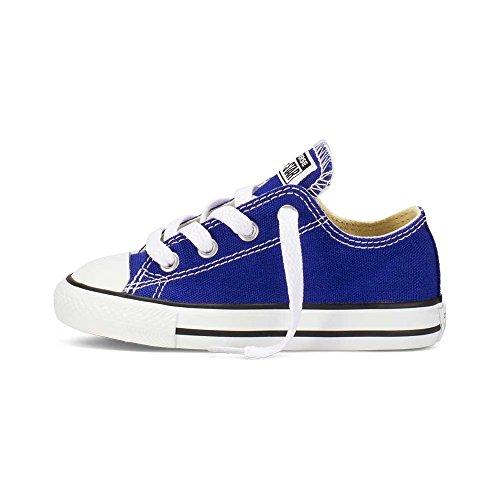 CONVERSE - Scarpe basse CONVERSE ALL STAR Classic KIDS in tessuto blue elettrico 742373C - 742373C - 22, Blu
