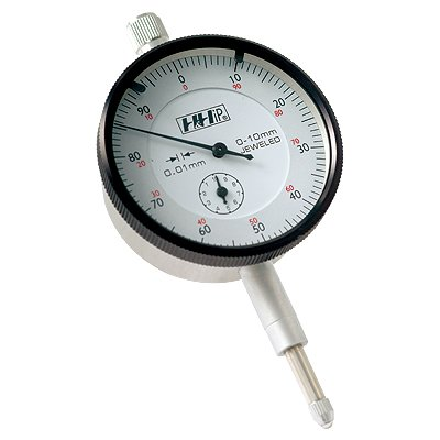 8 mm Stem Pro Series by HHIP 4400-0019 Metric Dial Indicator.01 mm Graduation 0-20 mm 0-100 Reading