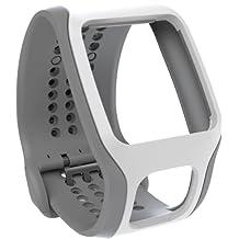 TomTom Cardio Comfort Strap Light Grey/White, One Size