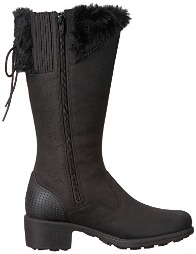 Black Mid Closed Merrell Boots Fashion Womens Toe Calf Chateau Tall v6XfXzF