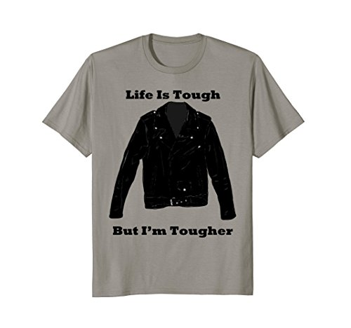 Life Is Tough But I'm Tougher Motorcycle Jacket - Tough Motorcycle