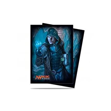 Ultra Pro Magic: The Gathering - Jace Unraveler of Secrets Shadows Over Innistrad SOI MTG Sleeves (80 Count) Deck Protectors