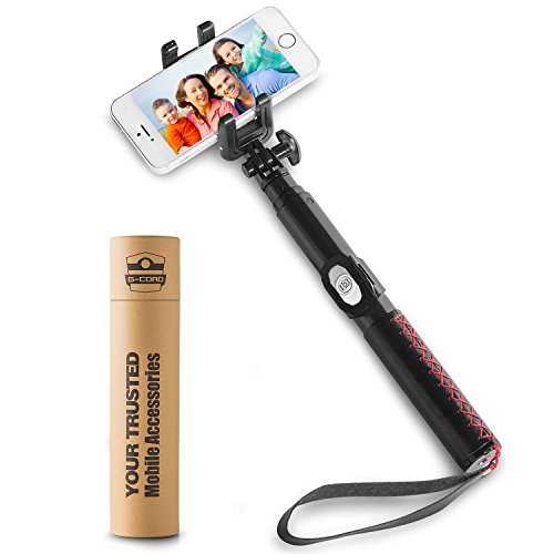 the selfie stick selfie stick bluetooth for iphone 7 plus iphone 7 iphone 6s ebay. Black Bedroom Furniture Sets. Home Design Ideas