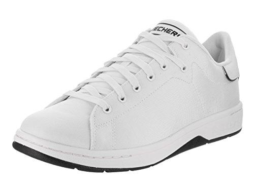 Skechers Herren Alpha-Lite Freizeitschuh Weiß schwarz