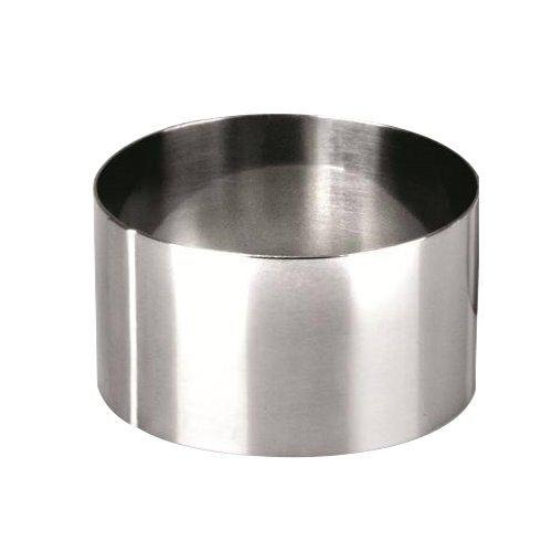 Ibili Clasica - Stampo ad anello per torte, diametro 6 cm, altezza 4,5 cm, 1 pezzo 716006