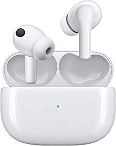 Wireless Earbuds Touch Bluetooth Earbuds Bluetooth 5.0 Stereo Wireless Earphones Microphone Web Meeting Waterproof Bluetooth Headphones Bluetooth Headset for Home Office