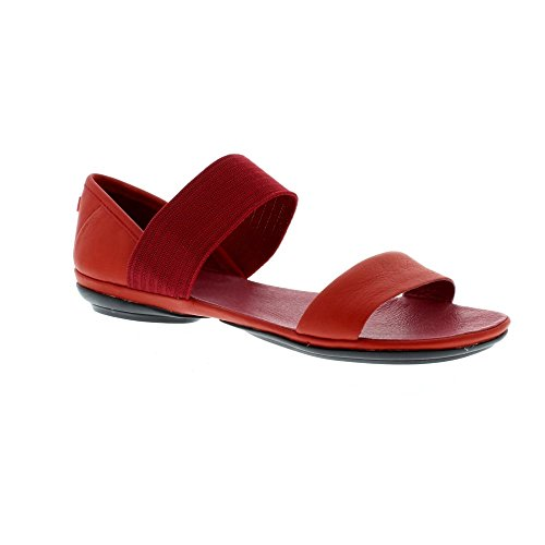 Camper Right Nina 21735-051 Medium Red (Leather) Womens Sandals 7 US