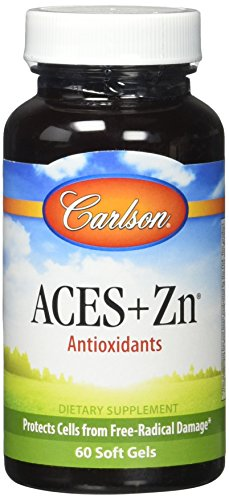 Carlson Labs Aces + Zn Soft Gels, 60 Count