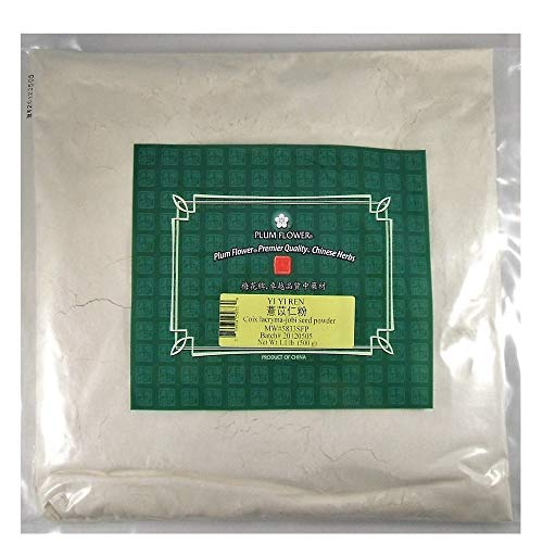 Job's Tears, Coix Seed Powder / Yi Yi Ren / Coix Lacryma Jobi, 16oz or 1lb Bulk Herb Powder