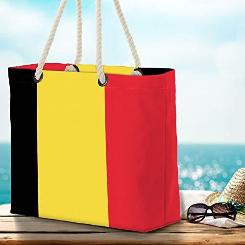 VOID XXL strandväska Belgien Shopper väska 58 x 38 x 16 cm 23 L Beach Bag Belgien Belgien Belgien