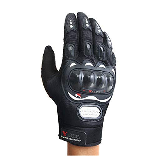 Lightweight Cold Weather Cycling Gloves Windproof Winter Sports Gloves for Running, Biking, Driving, Climbing, Hiking - Men & Women(Black X-Large)
