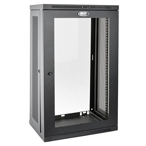 Tripp Lite 21U Wall Mount Rack Enclosure Server Cabinet with Acrylic Glass Window, 16.5