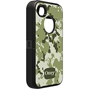 OtterBox Defender Series Case for iPhone 4/4S - Retail Packaging - Military Camo - Digi Forest (Discontinued by Manufacturer)