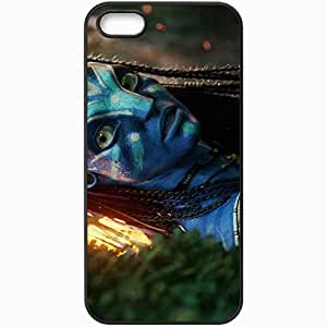 Personalized iPhone 5 5S Cell phone Case/Cover Skin A Avatar film movie 19041 Black