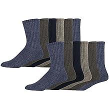 Dockers Basic Cushion Crew Socks, 12 Pair